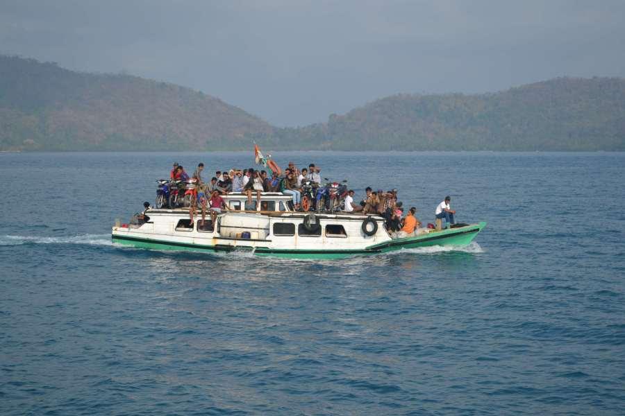 ferry penjelajah kepulauan