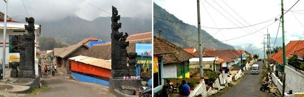 gapura dan desa