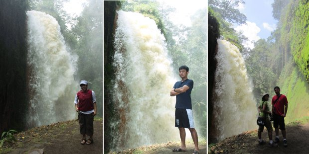 latar air terjun
