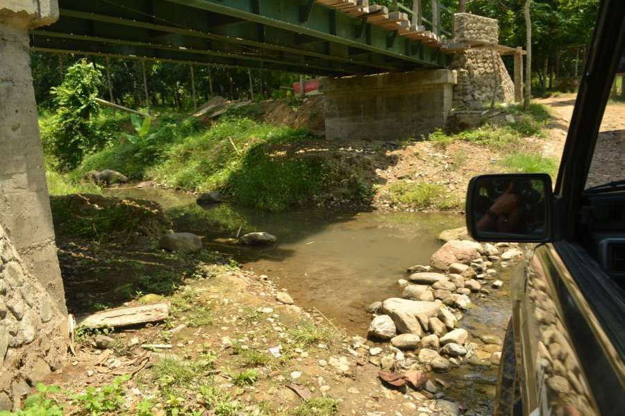 sungai yang lebih dangkal