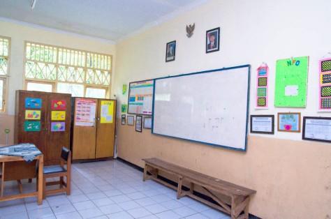 depan kelas