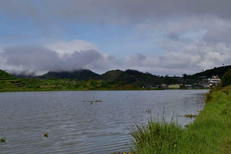 danau cebong dari tepian