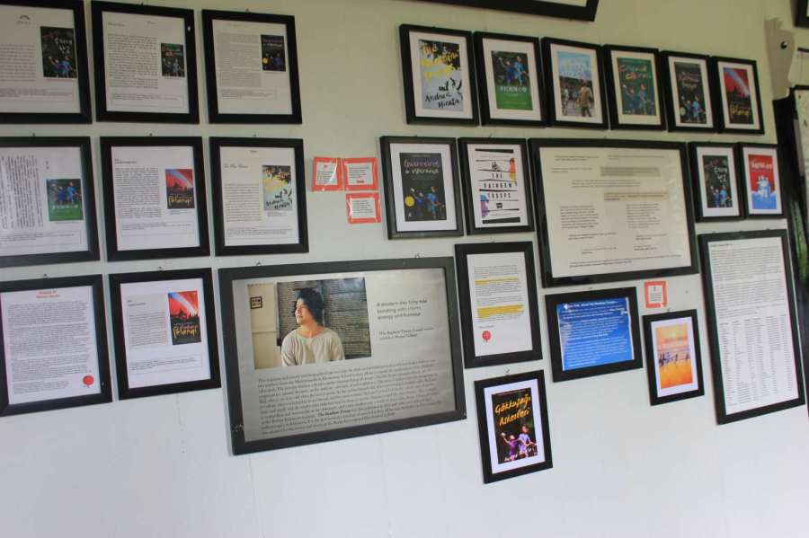 poster kutipan-kutipan dari buku - foto : steffy