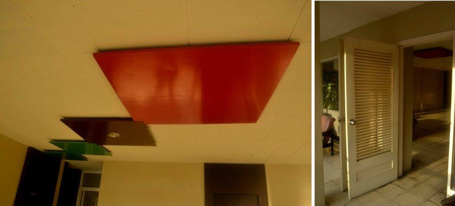 pola plafon dan pintu krepyak