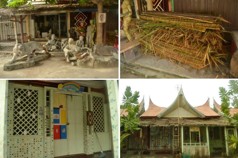pasar seni, belajar seni, obyek tradisional