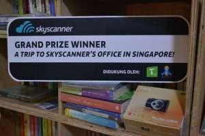 winner writing! #ToInspiredBeInspired skyscanner blog contest