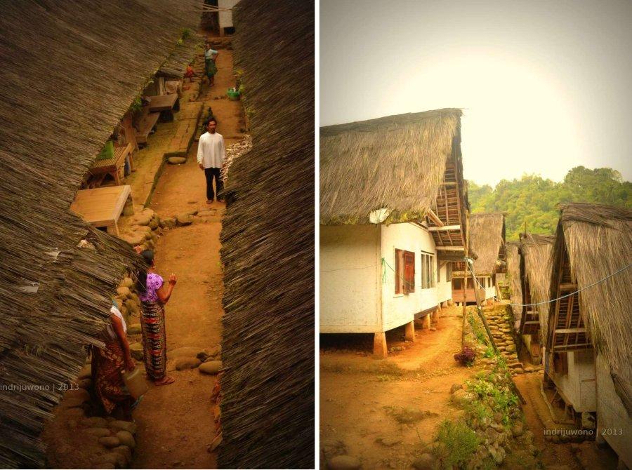 pemukiman yang berbukit-bukit