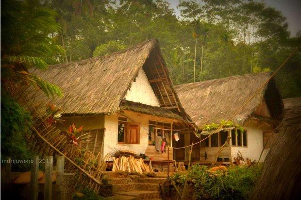 rumah di area tinggi