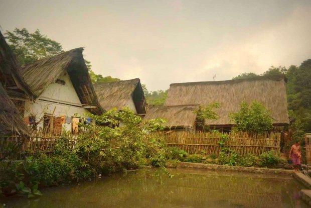 pagar bambu ini batas area bermukim