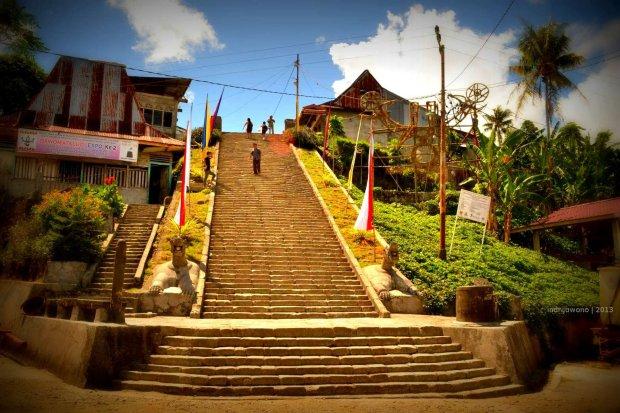 tangga menuju desa