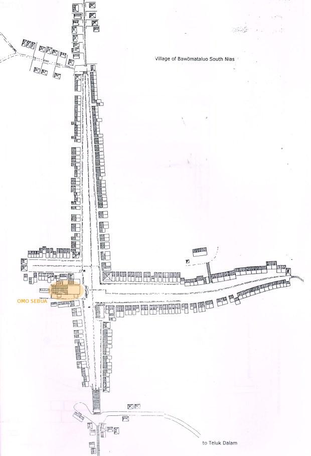 peta situasi desa bawomataluo