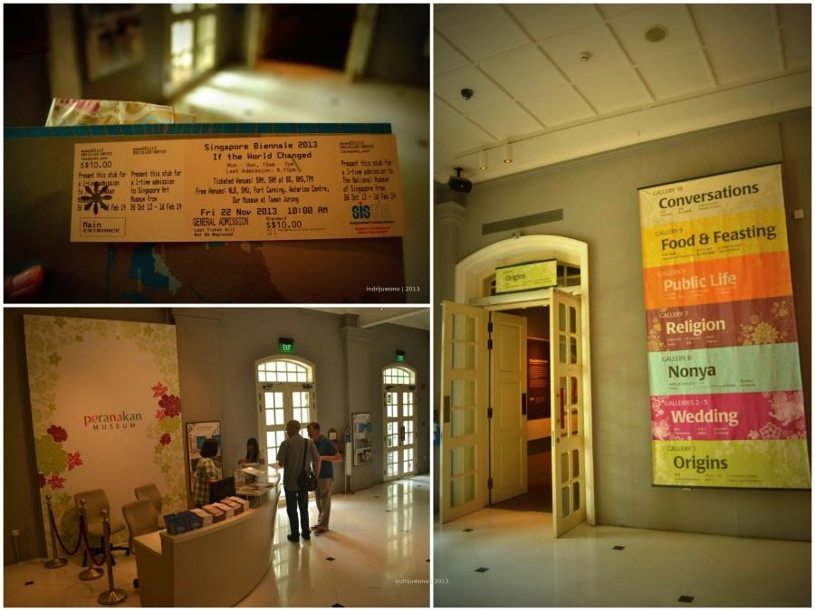 tiket masuk dan lobby utama