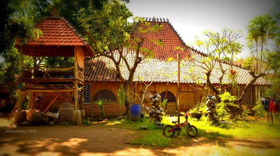 rumah utama, joglo dari Pati