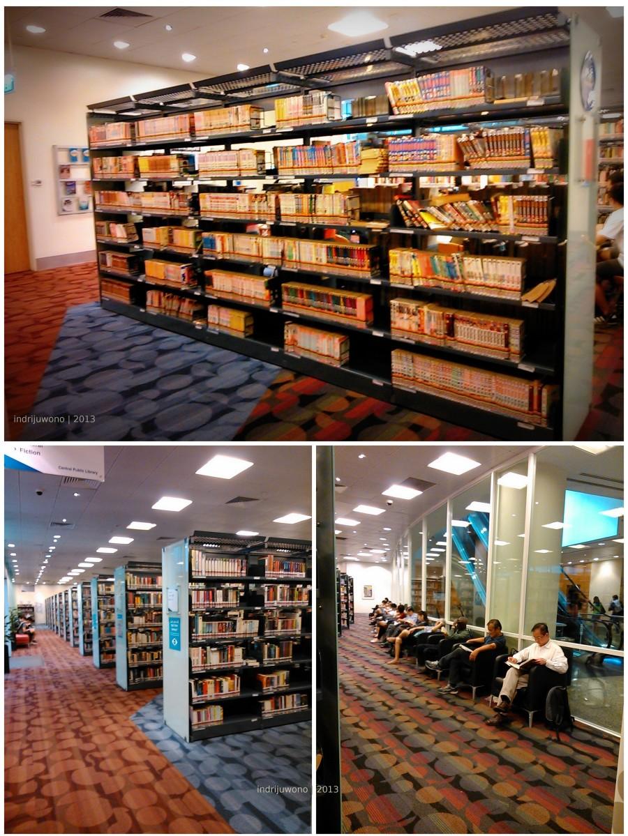 ruang perpustakaan publik