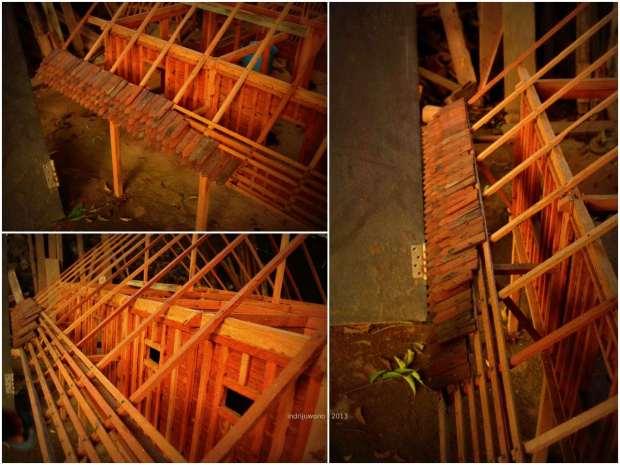 contoh cara menyusun atap sirap