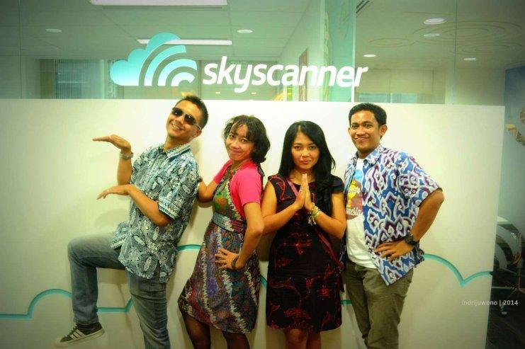 Totalitas berbuah manis , Finalis Skyscanner Indonesia