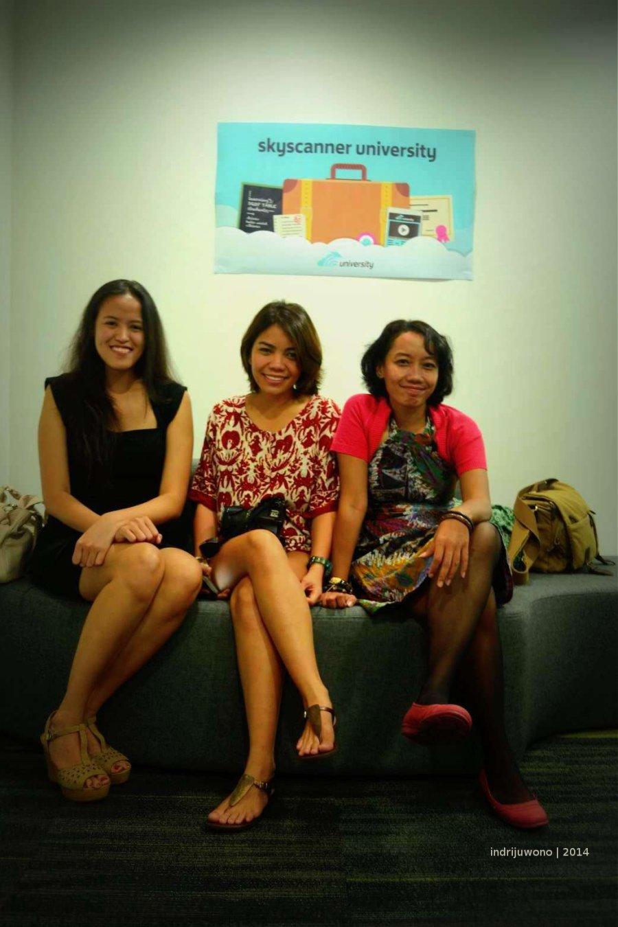 bersama mica & carla dari filipina