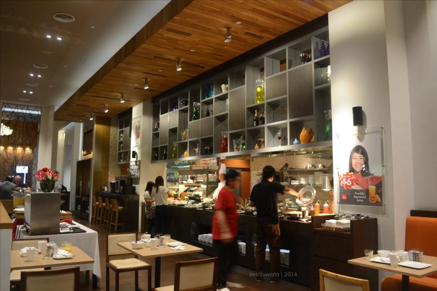 buffet Oopen restaurant