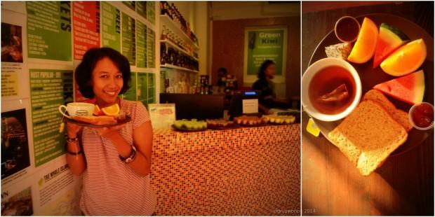 sarapan buah segar!