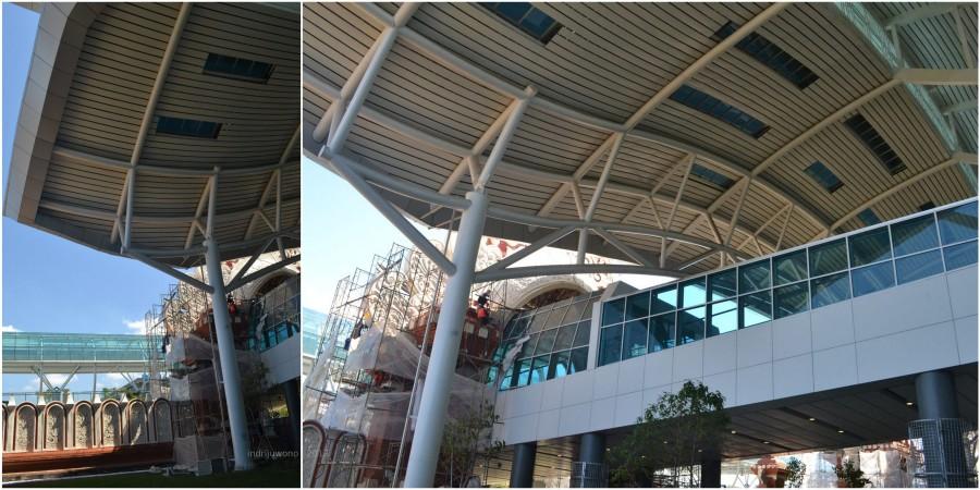 atap cangkang alumunium