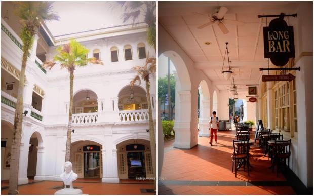 courtyard utama dan koridor