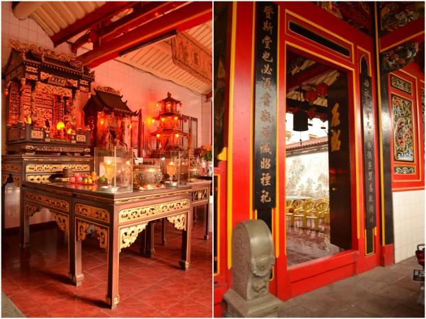 altar dalam dan ambang pintu yang harus dilangkahi