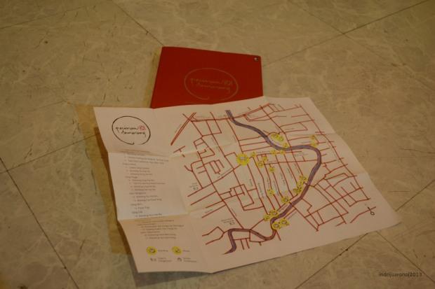 buku pecinan semarang dan peta
