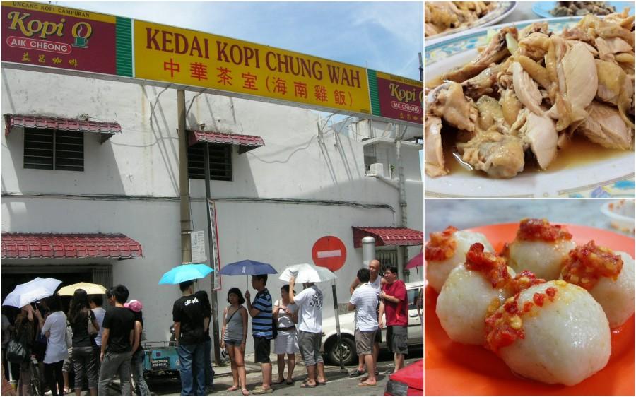 kedai kopi dan chicken rice ball [foto dari : http://www.awalkwithaud.com/2013/05/foodies-in-jonker-street-malacca.html]