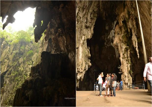 stalagtit gantung berderet