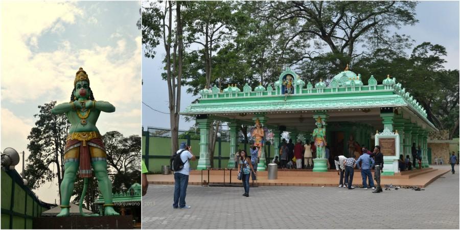 kuil khrisna dan patungnya