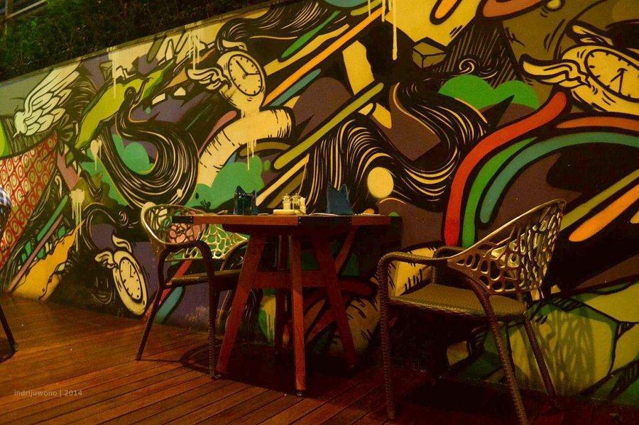 grafiti dinding