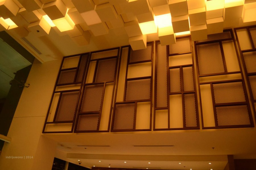 pola dinding