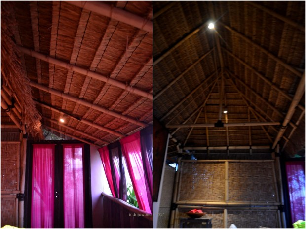 bamboo roof structure