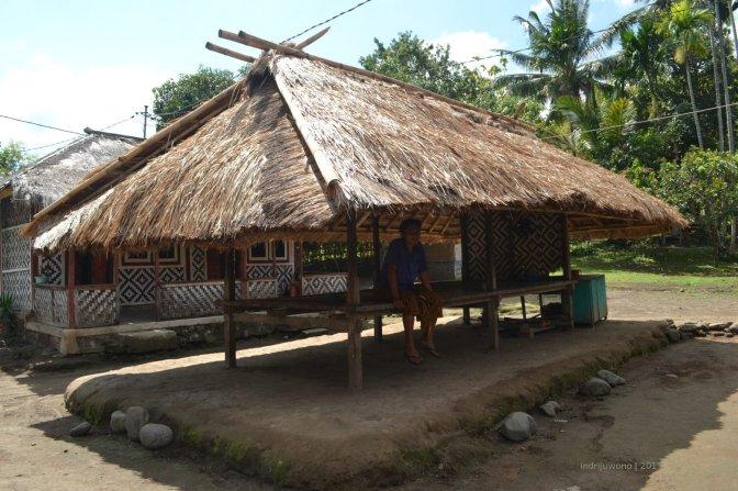 desa tradisional senaru, kunjungan pasca rinjani