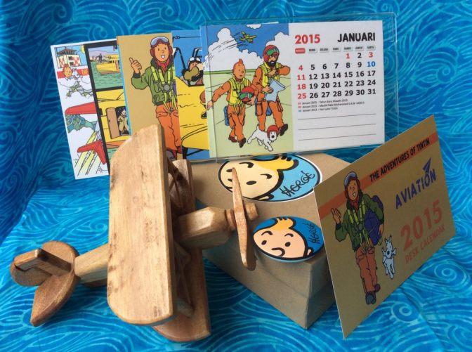 [giveaway] kalender tintin aviation 2015