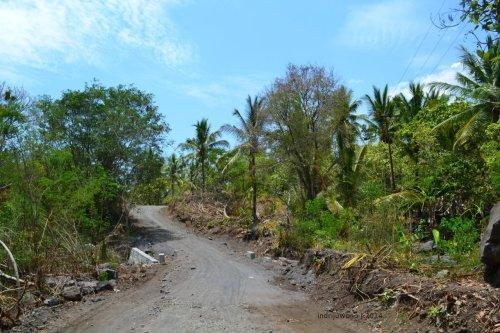 jalan pintas antar pemukiman di Ngadha