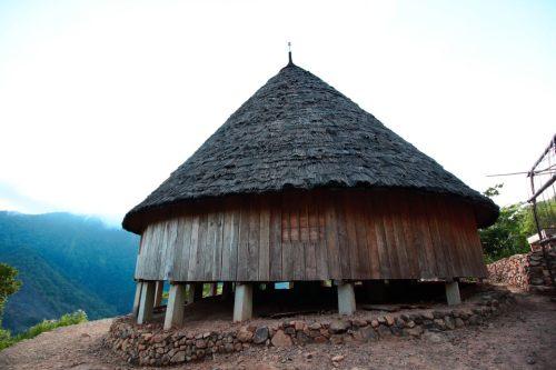 perpustakaan di atas bukit