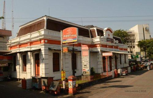 kantor pos sejak zaman dahulu