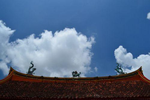 naga di atap