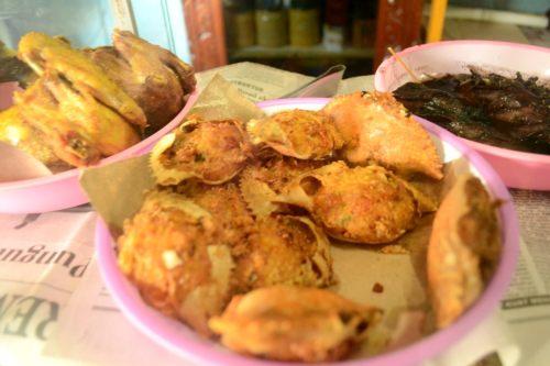 kue kepiting yang lezat