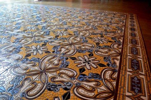 lantai tegel yang cantik