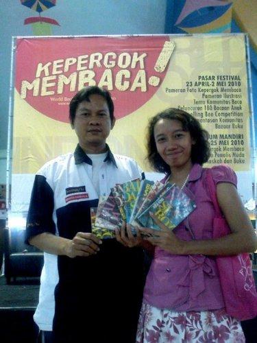 pertama bertemu gola gong di world book day 2010