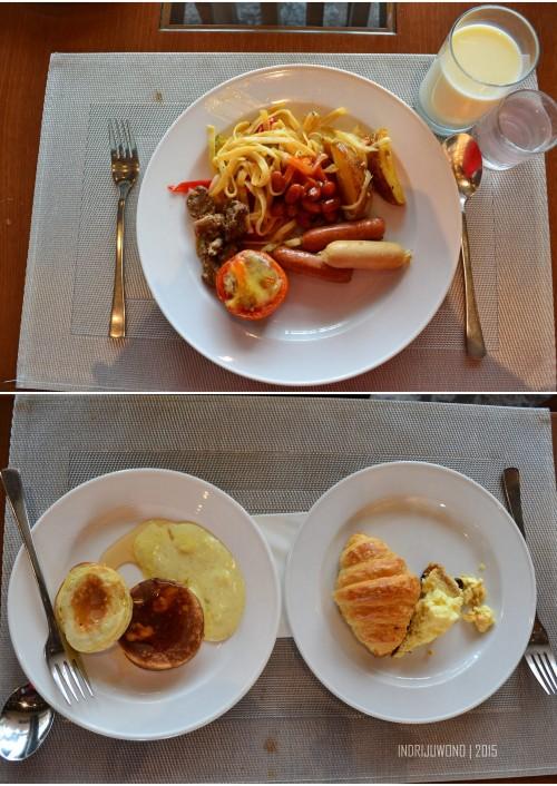 menu sarapan perempuan penyuka jingga