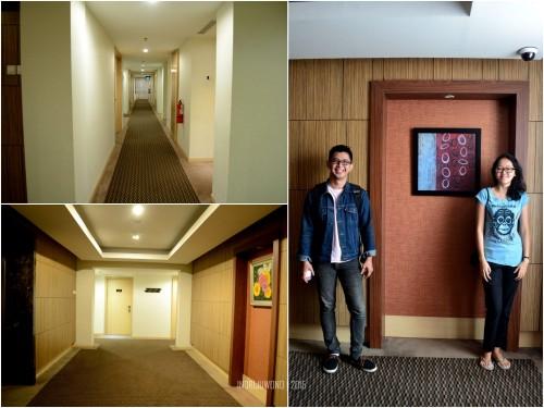 koridor dan lift lobby