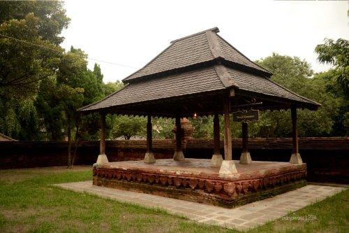 mande karesmen tempat menyimpan gamelan sekaten