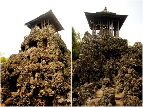 menara di atas goa peteng
