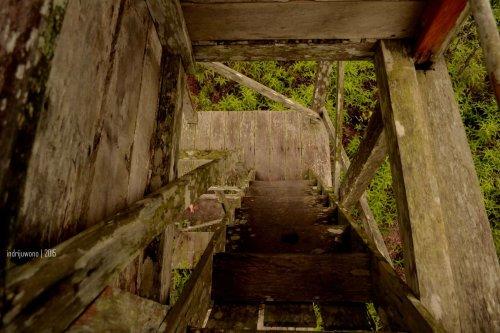 kayu menara yang tua