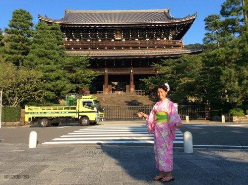 ini bukan sales truk himo, bukan!  yukata di higashiyama, kyoto