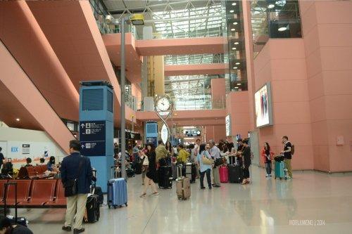 kansai internasional airport dari luar