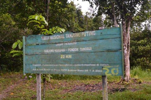 kalau berjalan kaki sampai camp berikutnya, 22 km saja.
